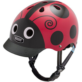 Nutcase Little Nutty Street Casco de bicicleta Niños, ladybug